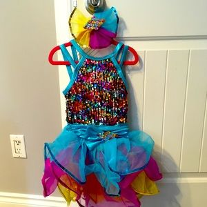Girls dance costume sz small child
